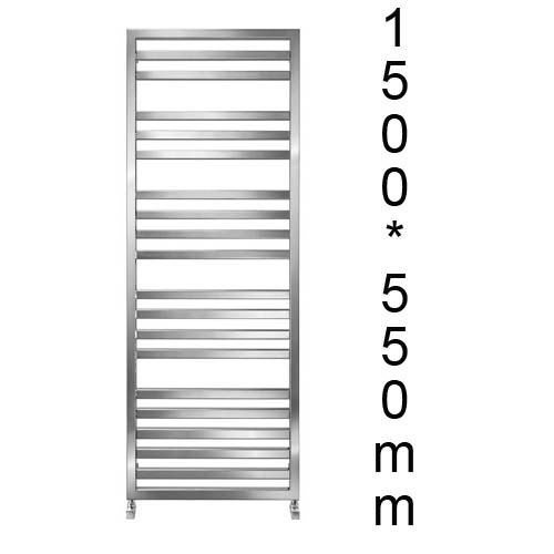 Radiador toallero cromo for Precio radiador toallero
