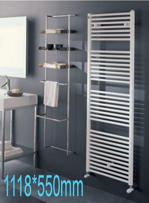 Radiador toallero de acero blanco - Radiadores de bano ...