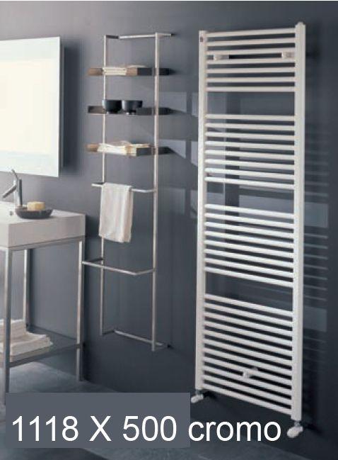 Toallero radiador cabeldor cromado for Precio toalleros bano