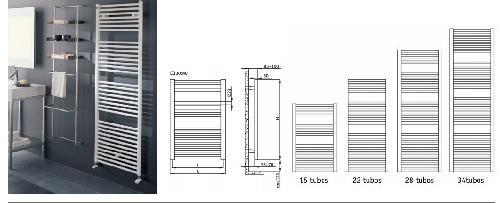 Radiador toallero de acero presupuesto sin compromiso for Radiadores toalleros electricos precios